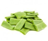 Haricot vert plat