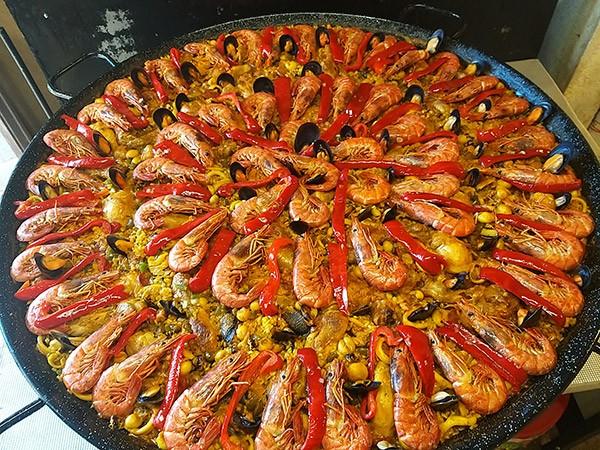 Paella Mixte, recette de Paellas de José à Montauban 82