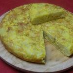 La recette de la tortilla espagnole avec paellas de josé