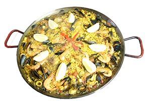 Fidéua au marché gourmand de Caussade - Paellas de Jose