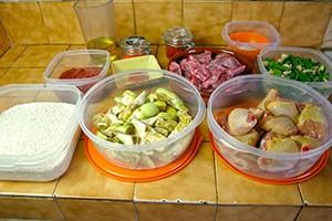 Les ingrédients d'une paella Valenciana - PAELLAS DE JOSE