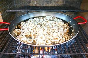 La recette paella marinière, étape 3 par Paellas de José