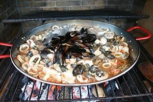 La recette paella marinière, étape 6 par Paellas de José