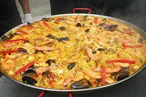 Paella au marché gourmande de caussade - Paellas de jose
