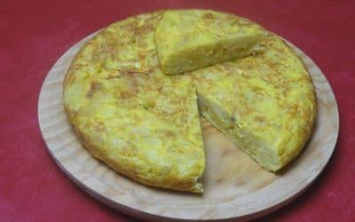 Recette Tortilla de Patatas Espagnole