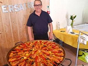 La paella cuisinée sur place pour vos repas d'anniversaires