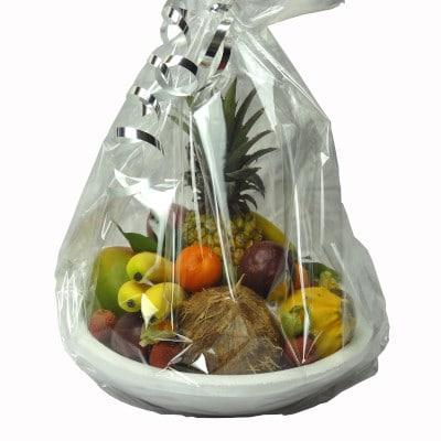 Offrir un plateau de fruits exotiques