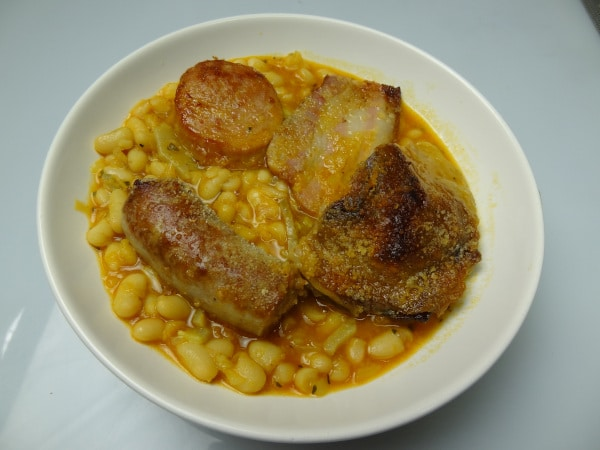 La ration de cassoulet